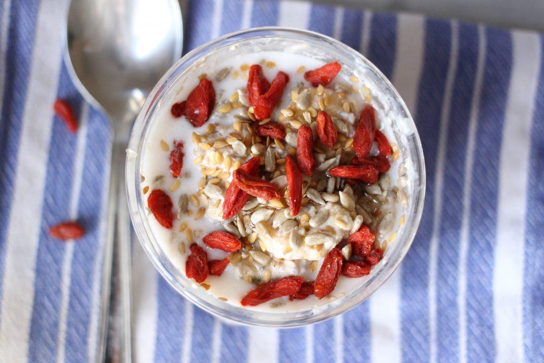 overnight porridge - fiocchi d'avena