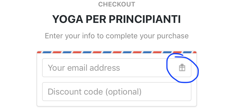 Regala un corso di yoga