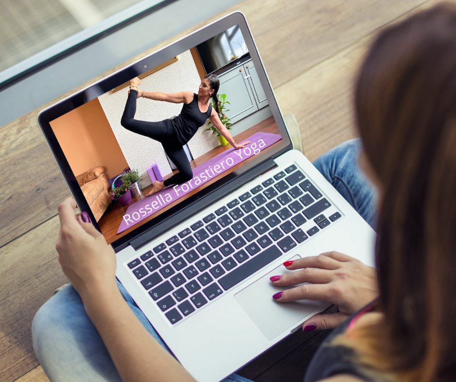 Online yoga rossella forastiero