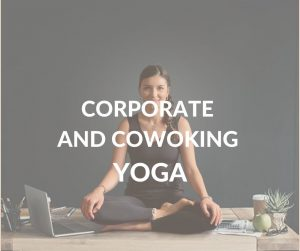 Yoga for corporate and coworking