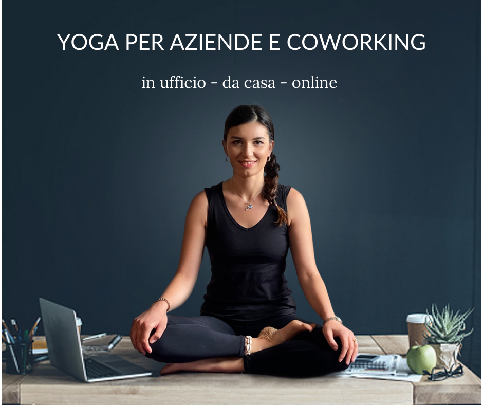 yoga per aziende e coworking